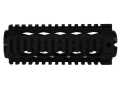 Yankee Hill Machine Gas Piston 2-Piece Handguard Quad Rail AR-15 Carbine Length Aluminum Matte