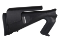 Mesa Tactical Urbino Tactical Stock System with Adjustable Cheek Rest &amp; Limbsaver Recoil Pad Remington 870, 1100, 11-87 12 Gauge Synthetic Black