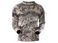Sitka Gear Men&#39;s Core Crew Base Layer Shirt Long Sleeve Polyester