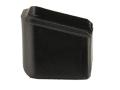 Arredondo Extended Magazine Base Pad +3 Springfield XD 40 S&W, 9mm Nylon Black