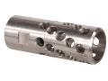 "AR-Stoner Heli-Port Muzzle Brake 1/2""-28 Thread AR-15 Stainless Steel"