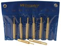 Product detail of Wheeler Engineering Punch Set 8-Piece Brass