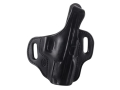 "El Paso Saddlery Strongside Select Thumb Break Outside the Waistband Holster Right Hand Springfield XD 45 4"" Leather Black"