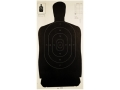 "Champion LE Target Police Silhouette B-27 Target 24"" x 25"" Paper Package of 100"