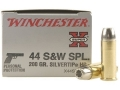 Winchester Super-X Ammunition 44 Special 200 Grain Silvertip Hollow Point