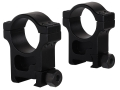 Product detail of Trijicon 30mm Accupoint Aluminum Picatinny-Style Rings Matte Extra High
