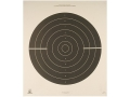 NRA Official International Pistol Target B-38 25 Yard Rapid Fire Paper Package of 100