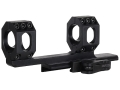 American Defense Scout Quick-Release Extended Scope Mount Picatinny-Style with 1&quot; Rings AR-15 Flat-Top Matte