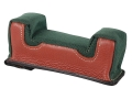 Edgewood Front Shooting Rest Bag Farley Varmint Width with Extra Reinforcment Leather and Nylon Green Unfilled