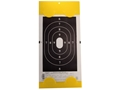 "EZ Target Handgun Silhouette Replacement Pad Target 14"" x 22"" Paper Package of 15"