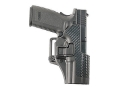 Product detail of BlackHawk CQC Serpa Holster Right Hand S&W M&P 9, M&P 40 Polymer Carbon Fiber Black