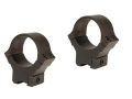 B-Square 30mm Sport Utility 22 Rimfire and Airgun Rings Medium Matte