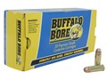 Buffalo Bore Ammunition 45 Colt (Long Colt) +P 300 Grain Jacketed Flat Nose