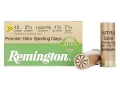 Product detail of Remington Premier Nitro Gold Sporting Clays Target Ammunition 12 Gauge 2-3/4&quot; 1-1/8 oz #7-1/2 Shot High Velocity