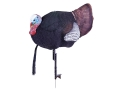 Flambeau Master Series Flocked Jester Half Strut Gobbler Turkey Decoy Polymer