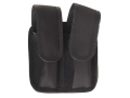 Bianchi 4620A Tuxedo Double Magazine Pouch Browning Hi-Power, Ruger P89, Sig Sauer P228, P229 Trilaminate Black