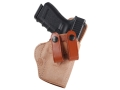 El Paso Saddlery Summer Cruiser Inside the Waistband Holster Right Hand Glock 19, 23, 32 Leather Natural and Russet Brown