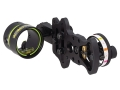 "HHA Sports Optimizer Lite Ultra DS-5510 1-Pin Bow Sight .010"" Pin Diameter Right Hand Aluminum Black"