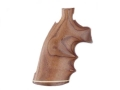 Product detail of Hogue Fancy Hardwood Grips with Accent Stripe, Finger Grooves and Contrasting Butt Cap Colt Trooper Mark III Pau Ferro