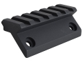 GG&amp;G Offset Half Length Picatinny Rail for AR-15 Tactical Modular Handguard Aluminum Matte