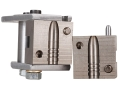 "Hoch Custom 1-Cavity Nose Pour Bullet Mold 30 Caliber (310 Diameter) 205 Grain Semi-Spitzer Gas Check 1.175"" Bullet Length"