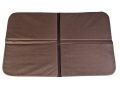 "Product detail of Mud River 4 Way Folding Travel Dog Bed 36"" x 21"" x .5"" Waxed Canvas Brown"