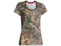 Under Armour Women's Tech Camo Short Sleeve T-Shirt Polyester Realtree Xtra