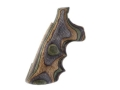 Hogue Fancy Hardwood Grips with Finger Grooves Colt Anaconda, King Cobra Lamo Camo