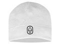 Hard Core Men's Skull Cap Polyester White