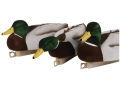 Tanglefree Migration Edition Fully Flocked Foam Filled Weighted Keel Mallard Duck Decoys Pack of 6