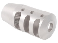 "PRI Muzzle Brake Quiet Control 5/8""-24 Thread AR-15 6.8mm Remington SPC Stainless Steel"