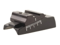 "Williams WGOS-Medium Open Sight Less Blade Fits Barrel Diameter .730"" to .830"" Aluminum Black"