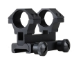 "Leapers UTG 3-Point Mount with 1"" Weaver-Style Rings AR-15, Flat Top Adapter Included Matte"