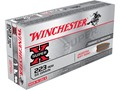 Winchester Super-X Ammunition 223 Remington 55 Grain Pointed Soft Point