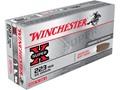 Winchester Super-X Ammunition 223 Remington 55 Grain Pointed Soft Point Box of 20