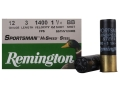 Product detail of Remington Sportsman Hi-Speed Ammunition 12 Gauge 3&quot; 1-1/4 oz BB Non-Toxic Steel Shot