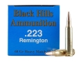 Product detail of Black Hills Remanufactured Ammunition 223 Remington 68 Grain Match Hollow Point Box of 50