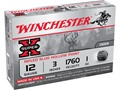 "Winchester Super-X Ammunition 12 Gauge 3"" 1 oz Rifled Slug Box of 5"