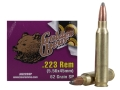 Product detail of Golden Bear Ammunition 223 Remington 62 Grain Soft Point (Bi-Metal) Box of 20