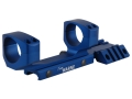 Warne RAMP 1-Piece Extended Scope Mount Picatinny-Style with Integral 30mm Rings Flat-Top AR-15 Team Warne Blue
