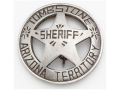 Collector&#39;s Armoury Replica Old West Deluxe Sheriff Tombstone Badge
