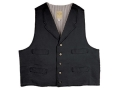 WahMaker Trapper Vest Canvas Black Medium