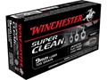 Winchester Super Clean NT Ammunition 9mm Luger 105 Grain Jacketed Flat Point Case of 500 (10 Boxes of 50)