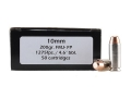 Doubletap Ammunition 10mm Auto 200 Grain Full Metal Jacket