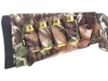Product detail of Allen Buttstock Shotshell Ammunition Carrier 4-Round Neoprene Mossy Oak Break-Up Camo