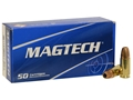Magtech Sport Ammunition 9mm Luger 147 Grain Jacketed Hollow Point Subsonic