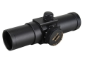 UltraDot Red Dot Sight 30mm Tube 1x 4 MOA Dot with Weaver-Style Rings Matte