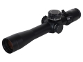 Valdada IOR Long Range Tactical Rifle Scope 35mm Tube 3-18x 42mm Side Focus 1/10 Mil Adjustments First Focal MP-8 Dot Reticle Matte with Picatinny-Style Rings