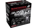 "Winchester Blind Side Ammunition 12 Gauge 2-3/4"" 1-1/4 oz #2 Non-Toxic Steel Shot Box of 25"