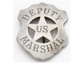 Collector's Armoury Replica Old West Railroad Deputy US Marshal Badge